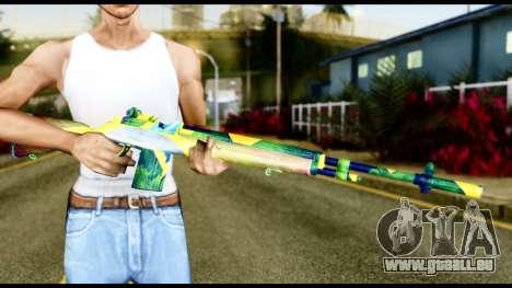Brasileiro Rifle für GTA San Andreas dritten Screenshot