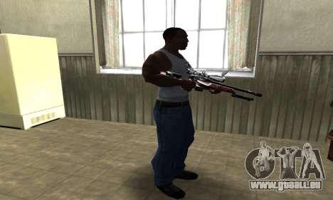 Redl Sniper Rifle pour GTA San Andreas troisième écran