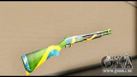 Brasileiro Shotgun pour GTA San Andreas deuxième écran