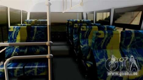 JAC Microbus für GTA San Andreas rechten Ansicht