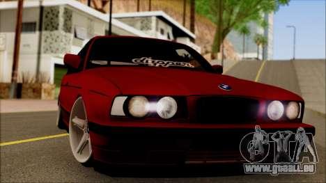 BMW M5 Touring E34 für GTA San Andreas zurück linke Ansicht