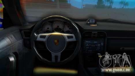 Porsche 911 2010 Cabrio für GTA San Andreas rechten Ansicht