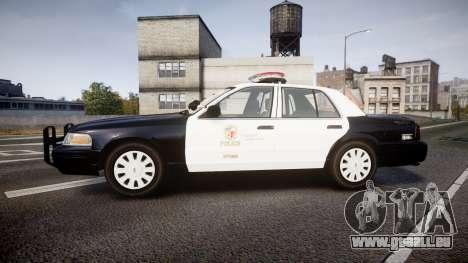 Ford Crown Victoria 2011 LAPD [ELS] rims1 pour GTA 4 est une gauche