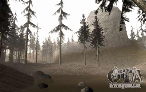Une copie de l'original arbres pour GTA San Andreas troisième écran