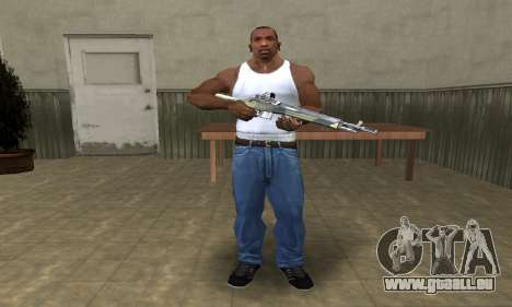 Military Rifle pour GTA San Andreas troisième écran