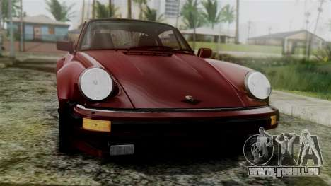 Porsche 911 Turbo (930) 1985 Kit C für GTA San Andreas rechten Ansicht