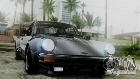 Porsche 911 Turbo (930) 1985 Kit C für GTA San Andreas obere Ansicht