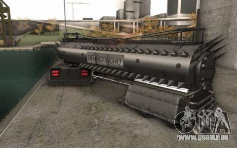 La bande-annonce de Mad Max, camion pour GTA San Andreas