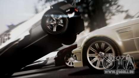 BMW M3 GTR Street Edition pour GTA San Andreas vue de droite