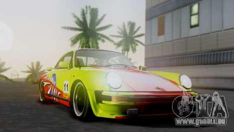 Porsche 911 Turbo (930) 1985 Kit A pour GTA San Andreas vue arrière