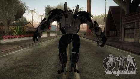 Batman Suit pour GTA San Andreas troisième écran