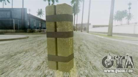 GTA 5 Sticky Bomb für GTA San Andreas zweiten Screenshot