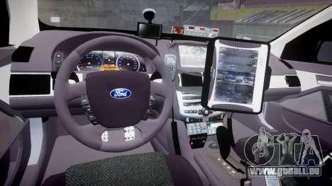 Ford Falcon FG XR6 Turbo Highway Patrol [ELS] für GTA 4 Rückansicht