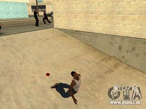 Ped.ifp Animation Gopnik pour GTA San Andreas deuxième écran