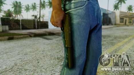Silenced M1911 Pistol pour GTA San Andreas troisième écran