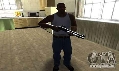 Black Shotgun pour GTA San Andreas troisième écran