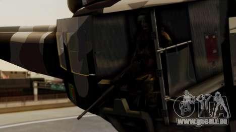 Bell UH-1 Paraguay für GTA San Andreas rechten Ansicht