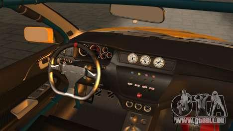 Mitsubishi Lancer Evolution 2015 pour GTA San Andreas vue de droite