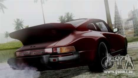 Porsche 911 Turbo (930) 1985 Kit C für GTA San Andreas linke Ansicht