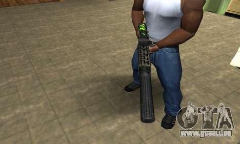 SPAS-12 Green Lines für GTA San Andreas zweiten Screenshot