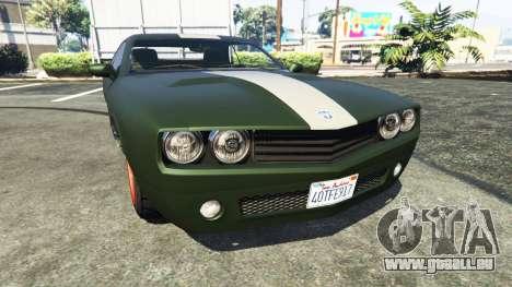 Bravado Gauntlet Dodge Challenger für GTA 5