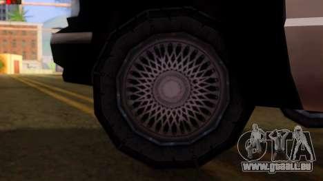 Police SA Premier pour GTA San Andreas vue de droite