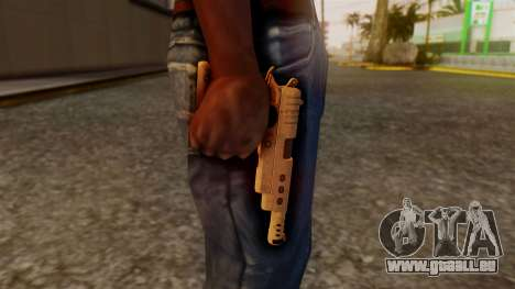 Chrome Hammer Pistol für GTA San Andreas dritten Screenshot