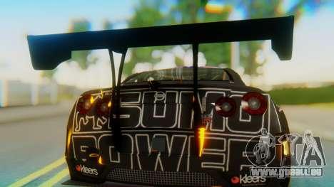 Nissan GT-R GT1 Sumo Tuning pour GTA San Andreas vue arrière