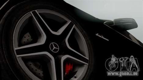 Mercedes-Benz C63 AMG 2015 Edition One pour GTA San Andreas vue de droite