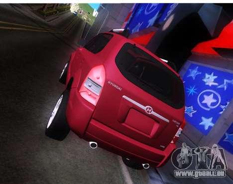 Hyundai Tucson für GTA San Andreas rechten Ansicht