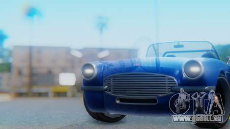 Invetero Coquette BlackFin Convertible für GTA San Andreas rechten Ansicht