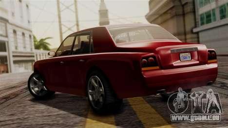 GTA 5 Enus Super Diamond IVF pour GTA San Andreas laissé vue