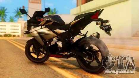 Honda CBR150R K45 pour GTA San Andreas laissé vue