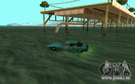 Cars Water pour GTA San Andreas