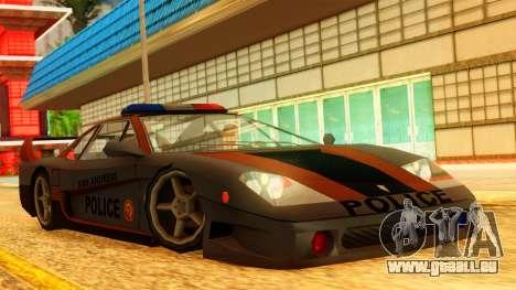 Police Turismo pour GTA San Andreas