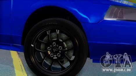 Ford Mustang 1999 Clean für GTA San Andreas zurück linke Ansicht