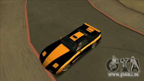 ZR-350 Road King pour GTA San Andreas vue de côté