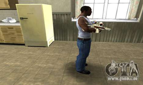 Sniper Fish Power pour GTA San Andreas
