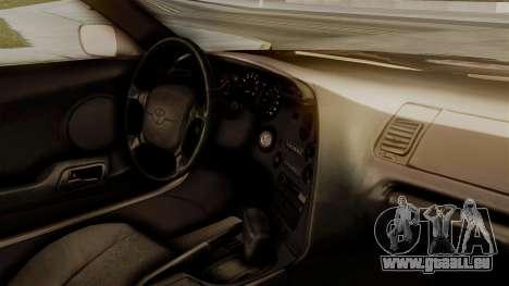 Toyota Supra Full Tuning pour GTA San Andreas vue de droite