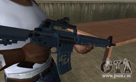 Counter Strike M4 für GTA San Andreas zweiten Screenshot