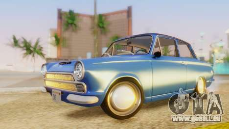 Lotus Cortina 1966 für GTA San Andreas