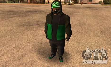 Fam Black für GTA San Andreas