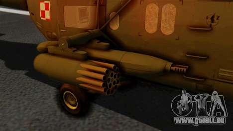 PZL W-3PL Grouse pour GTA San Andreas vue de droite