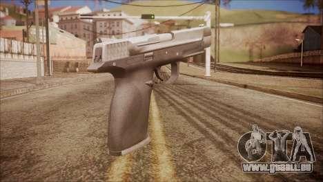 SW40p from Battlefield Hardline pour GTA San Andreas deuxième écran