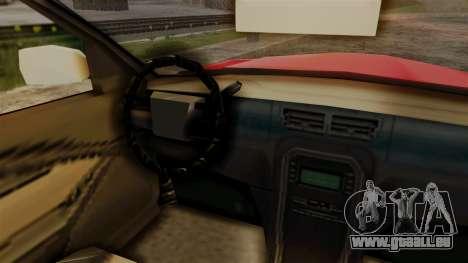 Zomkah from Saints Row 2 pour GTA San Andreas vue arrière
