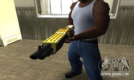 Wonder Combat Shotgun für GTA San Andreas zweiten Screenshot
