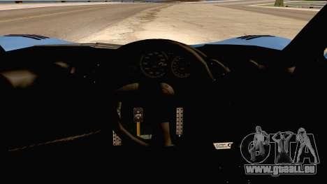 McLaren F1 LM 1995 pour GTA San Andreas vue arrière