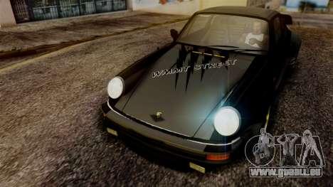 Porsche 911 Turbo (930) 1985 Kit A PJ für GTA San Andreas Seitenansicht