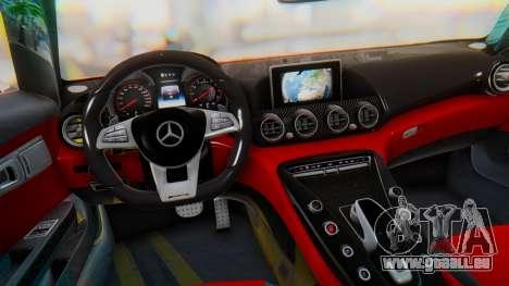 Mercedes-Benz SLS AMG GT pour GTA San Andreas vue de droite