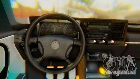 Volkswagen Santana Gz pour GTA San Andreas vue de droite